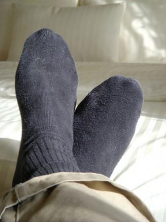 black sock